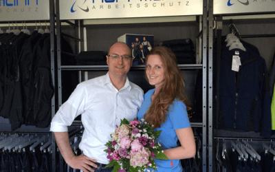 Wir gratulieren Janika Hoffmann zur bestandenen Abschlussprüfung